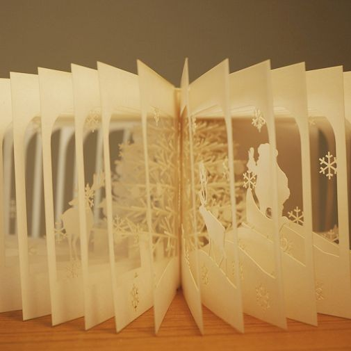 "360°book ""Merry Christmas"""