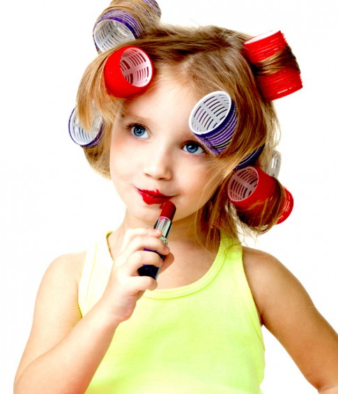 すべての折り紙 折り紙 おに : Little Girls with Makeup