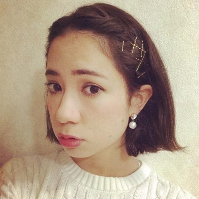 髪型 ピン 髪型 アレンジ : matome.naver.jp