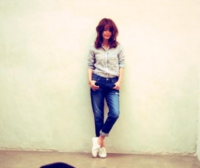 梨花さんがブログにアップしたことで人気急上昇しました!梨花さんはスペルガだけでなく、NIKEやNBも愛用中!