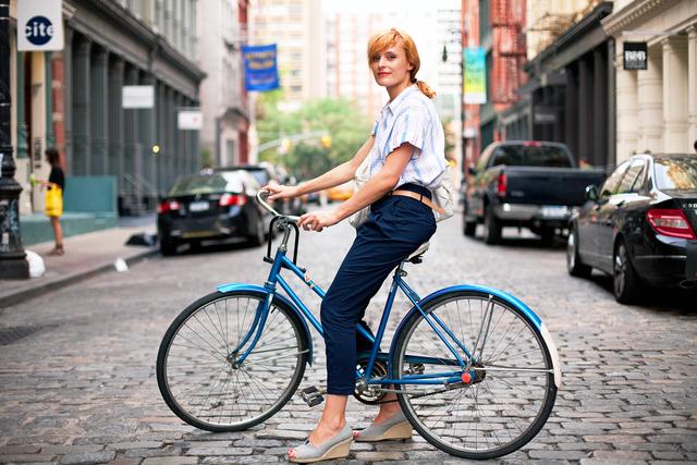 自転車の 自転車 おしゃれ : も♡自転車女子はおしゃれ ...