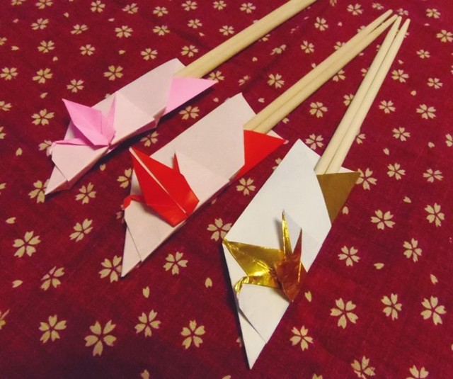 すべての折り紙 箸入れ 作り方 折り紙 : DIY】和風折り紙♡使える ...