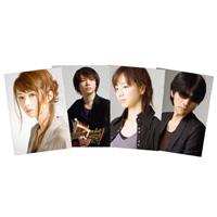GARNET CROW | GARNET CROW Symphonic Concert 2010 クリアファイル(4枚入り)