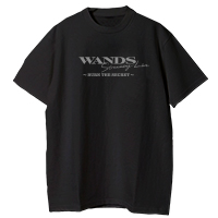 WANDS | WANDS Tシャツ【黒】