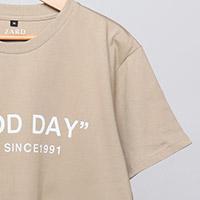 ZARD | ZARD カーキTシャツ【GOOD DAY】