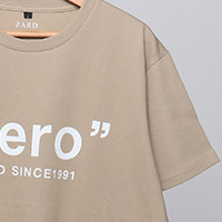 ZARD | ZARD カーキTシャツ【hero】