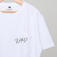 ZARD | ZARD 白Tシャツ【ロゴ】