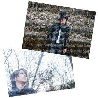 AKIHIDE | 桜の森の満開の下で ふるさと葉書 -Black-