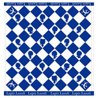 AKIHIDE | Lapis Lazuli ハンドタオル/ジャガード