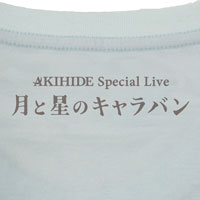 AKIHIDE | 月と星のキャラバン Tシャツ
