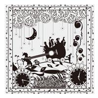 AKIHIDE | 月と星のキャラバン キャラバンのスカーフ/ホワイト