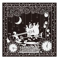 AKIHIDE | 月と星のキャラバン キャラバンのスカーフ/ブラック