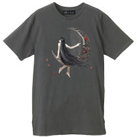AKIHIDE | NAKED MOON2 Tシャツ