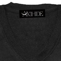 AKIHIDE | RAIN MAN Tシャツ/ブラック