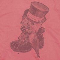 AKIHIDE | RAIN MAN Tシャツ/ピンク