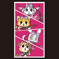 OTMGirls feat. アグレッシブ烈子   AR トートバッグ バンド / tote bag band