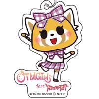 OTMGirls feat. アグレッシブ烈子   AR アクリルキーホルダー 烈子 / Acrylic key chain Aggretsuko