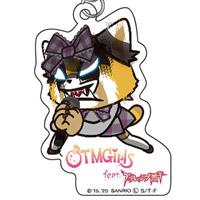 OTMGirls feat. アグレッシブ烈子 | AR アクリルキーホルダー シャウト / Acrylic key chain shout