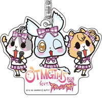 OTMGirls feat. アグレッシブ烈子 | AR アクリルキーホルダー OTMGirls / Acrylic key chain OTMGirls