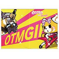 OTMGirls feat. アグレッシブ烈子 | AR A4クリアファイル 烈子 / clear file Aggretsuko