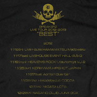 "BREAKERZ | ""BEST""-LIVE HOUSE-Tシャツ"