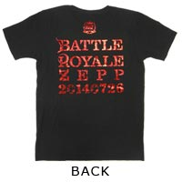 BREAKERZ | BATTLE ROYALE ZEPP 2014 BRZ Tシャツ