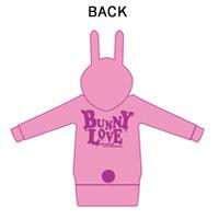 BREAKERZ | BUNNY LOVE BUNNYパーカー
