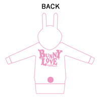 BREAKERZ | BUNNY LOVE BUNNYパーカー