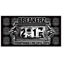 BREAKERZ | COUNTDOWN LIVE 2014-2015 バスタオル