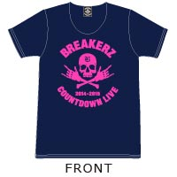 BREAKERZ | COUNTDOWN LIVE 2014-2015 Tシャツ(Navy)