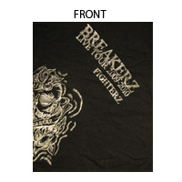 BREAKERZ | FIGHTERZ Tシャツ スカル