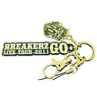 BREAKERZ | GO 携帯ストラップ-ゴールド
