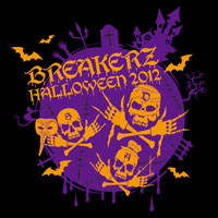 BREAKERZ | HALLOWEEN PARTY 2012 Tシャツ