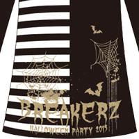 BREAKERZ | HALLOWEEN PARTY 2015 ボーダーワンピース