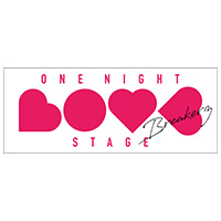 BREAKERZ | -ONE NIGHT LOVE STAGE- フェイスタオル