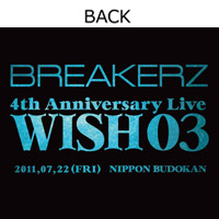 BREAKERZ | WISH 03 Tシャツ-A