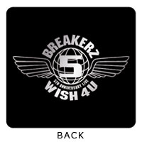 BREAKERZ | WISH 4U リストバンド黒