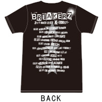 BREAKERZ | X-cross- TOUR Tシャツ(BLACK)