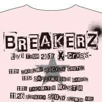 BREAKERZ | X-cross- TOUR Tシャツ(PINK)