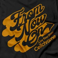 Cellchrome | From Now On ロングスリーブT ブラック
