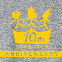 Chicago Poodle   10th Anniversary Tシャツ