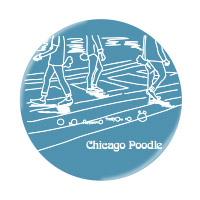 Chicago Poodle | 尾を振り合うも多生の縁 マグネットセット