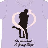 "DAIGO | ""史上最大のスペイシーハグ会"" Spacey HUG Me? Tシャツ (OSAKA)"