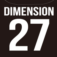 DIMENSION | 27パーカー