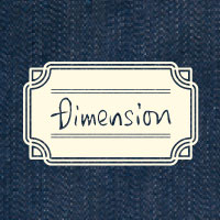 DIMENSION | フラットポーチ