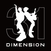 DIMENSION | DIMENSION 31Tシャツ[BLACK]