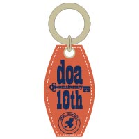 "doa | ""open_door""2014 キーホルダー/オレンジ"