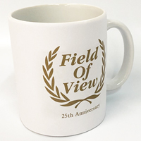 FIELD OF VIEW | FIELD OF VIEW 25th Anniversary マグカップ