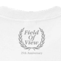FIELD OF VIEW | FIELD OF VIEW 25th Anniversary Tシャツ ホワイト