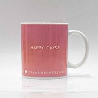 GARNET CROW | GARNET CROW 20th HAPPY DAYS?マグカップ(PINK)